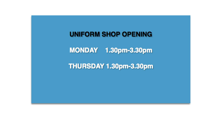 Uniform-Shop-Opening-Times